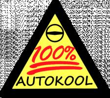 100% Autokool logo