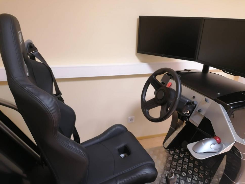 Pärnumaa Kutsehariduskeskuse Autokool Simulaator 2