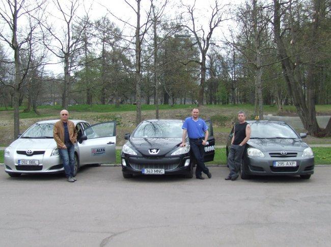 Alfa Pro Autokool Уебные автомобили