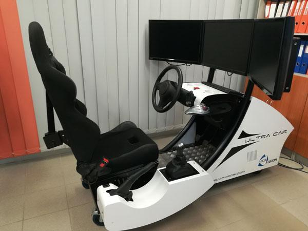 LRK Autokoolitus Simulaator