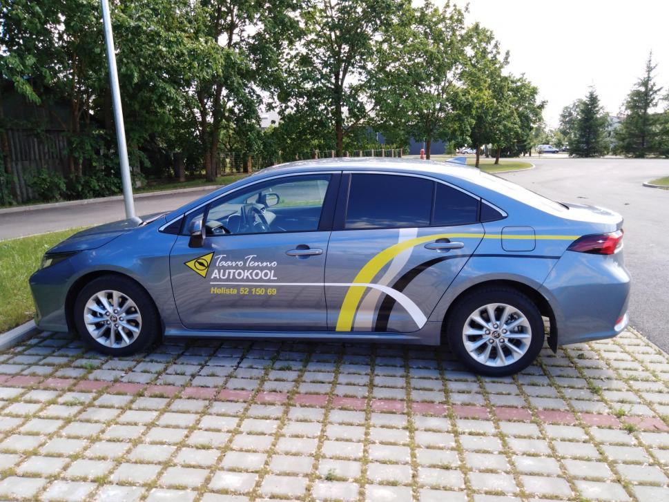 Taavo Tenno Autokool Õppesõiduk