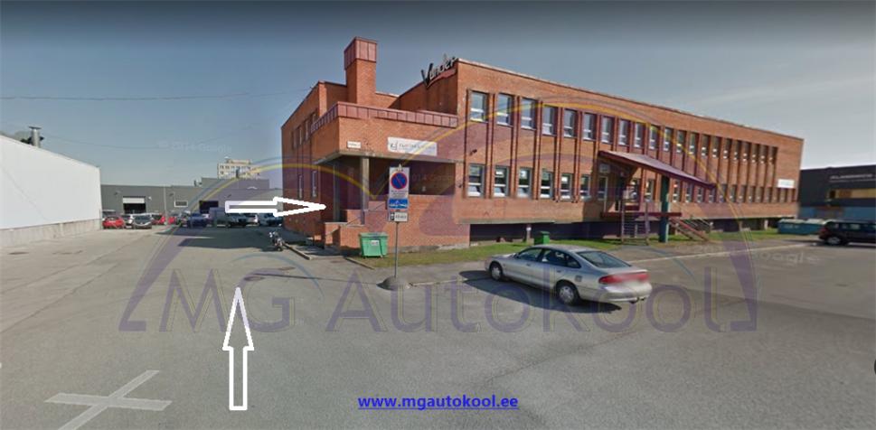MG Autokool Asukoht