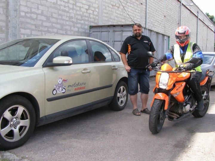 Motokaru Autokool Õppesõit