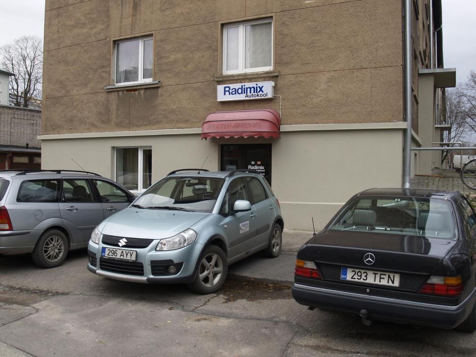 Radimix Autokool Asukoht