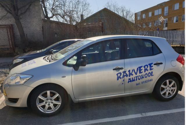 Rakvere Autokool Õppesõiduk