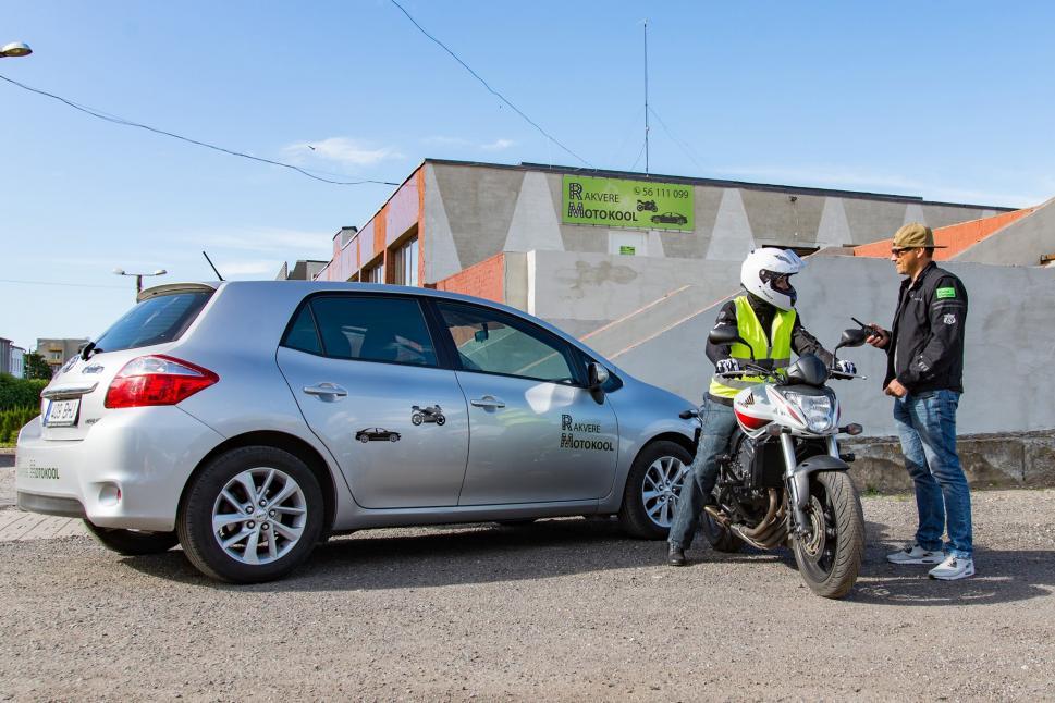 Rakvere Motokool Õppesõit