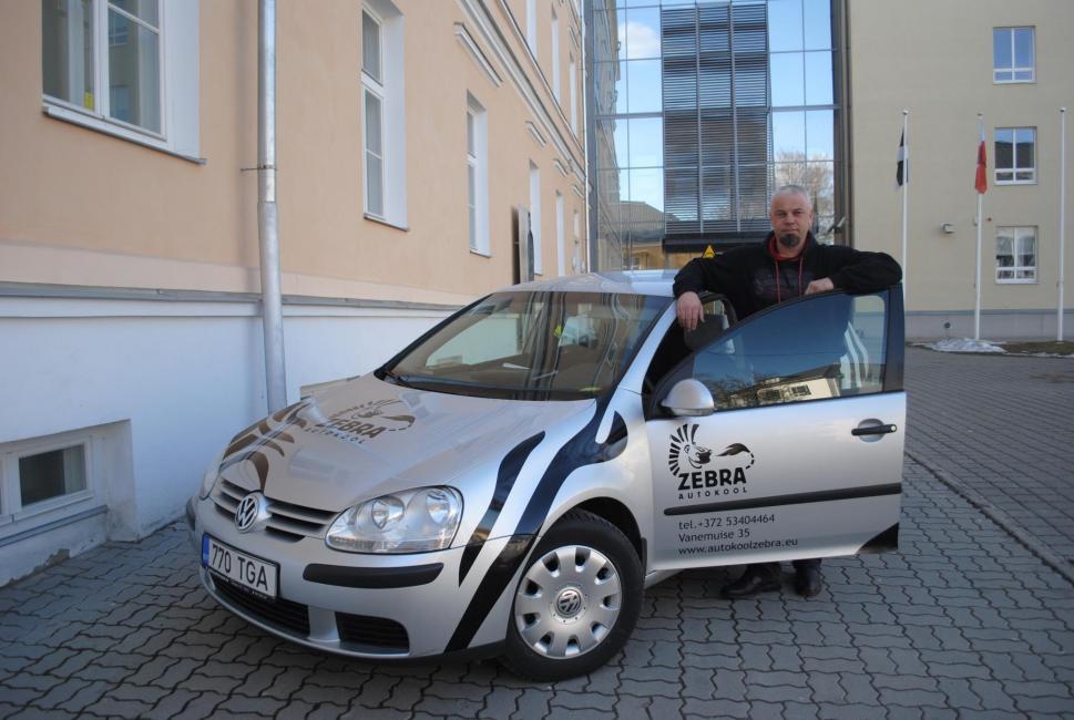 Zebra Autokool Sõiduõpetaja