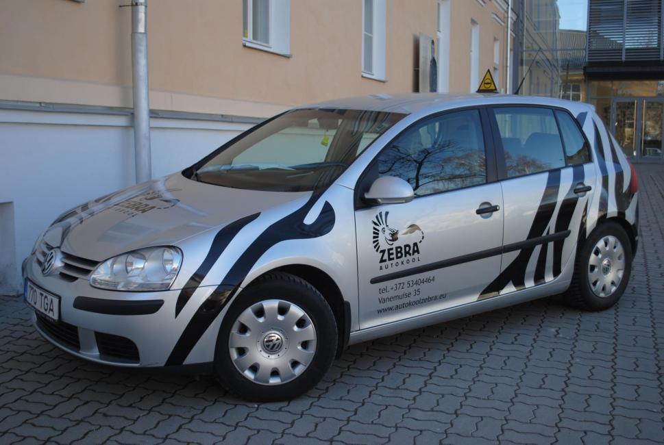 Zebra Autokool Õppesõiduk